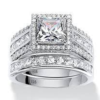 Sterling Silver Wedding Ring Sets by Wedding Ring Sets Palm Beach Jewelry
