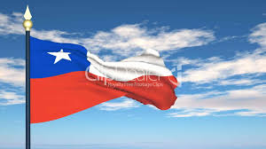 Chile Santiago Flag Flag Of Chile Lizenzfreie Stock Videos Und Clips
