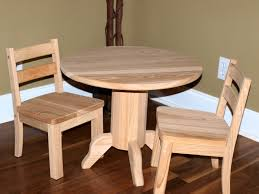 unfinished childrens table and chairs unfinished cypress childs table chair set diy projects and diy