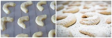 vanillekipferl austrian vanilla crescent cookies the daring