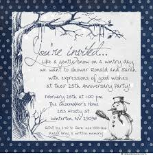 party invitation wording winter party invitation wording ideas snowflake party verse
