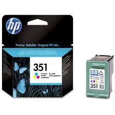 Conhecido HP 351 TriColor Original CB337EE con Vivera ink &VC43