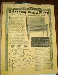 Reloading Bench Plan Recycled Lumber Into A Hunters Reloading Bench West Virginia