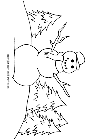 snowman coloring pages printable coloring