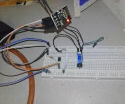 garage door opener circuit esp8266 garage door opener 3 steps