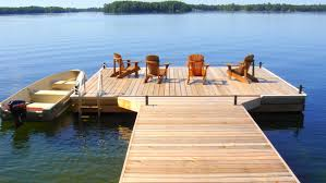 r u0026 j machine custom built docks in peterborough u0027s cottage country