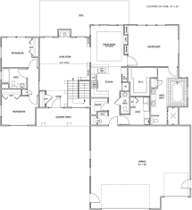 Floor Plans For Single Story Homes Floor Designs For Homes Haammss