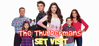 on set of nickelodeon s the thundermans