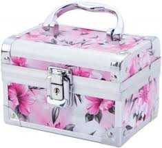 Makeup Box portable aluminum makeup cosmetics
