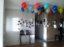 balloons for him did this in my entry way for husbands 30th birthday 30 balloons