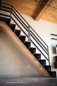 Curved Handrail Curved Staircase Stair Gallery U2014 Nk Woodworking U0026 Design