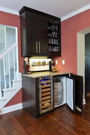 bar awesome corner wet bar designs this modern wet bar features