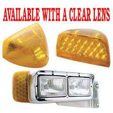 peterbilt 379 cab marker lights peterbilt turn signal accessories big rig chrome shop semi truck