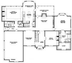 5 bedroom house plans with bonus room 653617 2 story traditional home with 4 bedrooms and a
