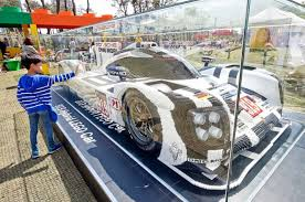 porsche 919 hybrid lego lotte hosts lego festival to build four ton lego flower be korea