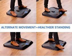 Standing Desk Mats Licloud Standing Desk Mat Ergonomic Anti Fatigue Comfort Floor Mat