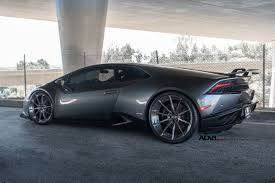 grey lamborghini huracan adv1 wheels lamborghini huracan cars grey dark modified wallpaper