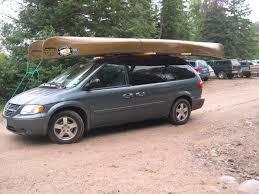 Ford Escape Kayak Rack - bwca carrying canoe on minivan rack boundary waters gear forum