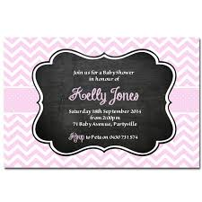 purple and grey baby shower invitations personalised baby shower invitations deezee designs chevron