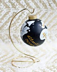diy mystery supply challenge wanderlust globe ornament the