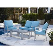 All Modern Outdoor Furniture by Found It At Allmodern Olive Brushed Aluminum Patio Furniture 4