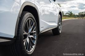 lexus lx australia 2016 lexus rx 450h f sport review video performancedrive