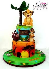 Lion King Baby Shower Cake Ideas - the lion king cake lion king cakes lions and cake