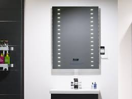 image illuminated bathroom radio mirror roper rhodes