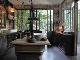 cuisine industrielle cuisine industrielle loft recherche interior decoration