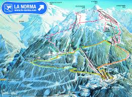 Colorado Ski Map by La Norma Ski Resort Skirebel Magazine