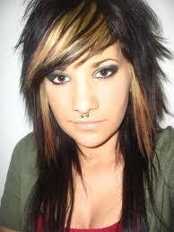 medium length layered emo haircuts women medium haircut