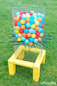 How To Make Backyard Jenga by 20 Diy Yard Games That Are Perfect For Summer Entertaining These