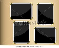 vertical photo album photo album page horizontal vertical blank stock vector 44404963