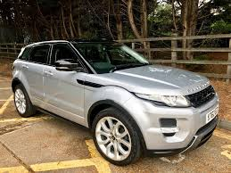 silver range rover used indus silver land rover range rover evoque for sale essex