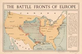 A Map Of Europe File World War I Battle Fronts Of Europe Overlaid Over A Map Of