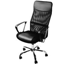 mesh office chair high back executive net adjustable swivel