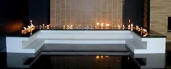 modulo fire ribbon modular ethanol burner inserts afire
