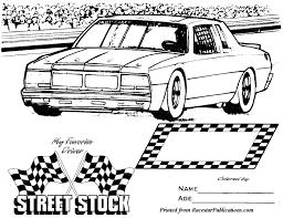 lil u0027 racer coloring page racestar publications