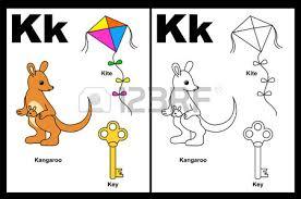 kids alphabet coloring book outlined clip arts color