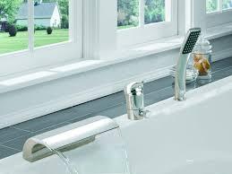 sumerain single handle deck mount bath tub faucet u0026 reviews wayfair