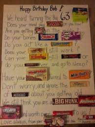 114 best candy posters images on pinterest birthday candy grams