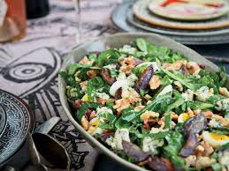 collard greens blue potato and bacon salad recipe melia marden