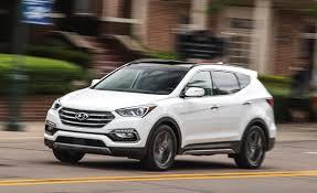 2017 hyundai santa fe sport test u2013 review u2013 car and driver