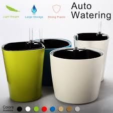 Self Watering Vertical Planters Self Watering Planter Flower Pot Water Storage Level Indicator
