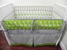 custom crib bedding set dexter giraffe lime babybedding