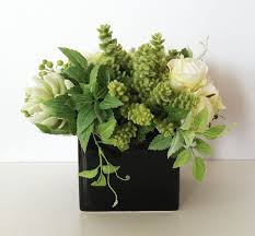 Silk Flower Arrangements For Office - best 25 artificial succulents ideas on pinterest succulent