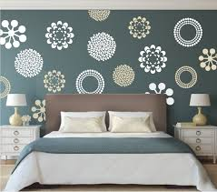 modern flower bedroom wall decals stickers murals removable zoom