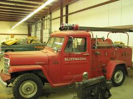 jeep fire truck for sale 1951 fire truck blitz wagon sold ewillys