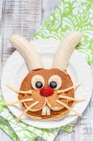 how to make easter bunny pancakes diycandy com