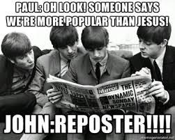 The Beatles Meme - the beatles